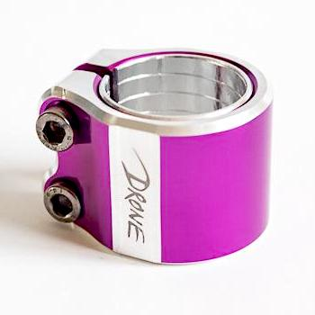 Хомут Drone Contrast Clamp Purple