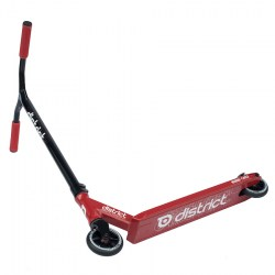 District C-Series C052 Complete Scooter - RedBlack-1