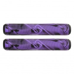 Грипсы Striker Scooter Grips Black/Purple
