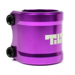 Хомут Tilt Arc Double Clamp Purple