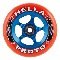 Колеса Proto X Hella Grip Scooter Wheels 110mm/Red On Blue