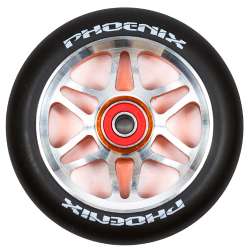 Колесо Phoenix Fly 110mm Black/Orange
