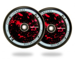 Колеса Root Industries Air Wheel 110mm Red Splatter