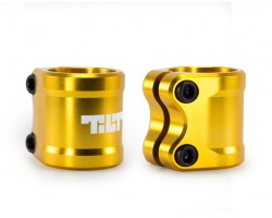 Хомут Tilt Arc Double Clamp Gold